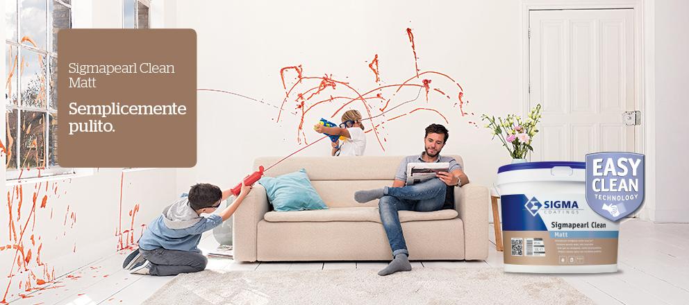Pittura murale opaca Sigmapearl Clean